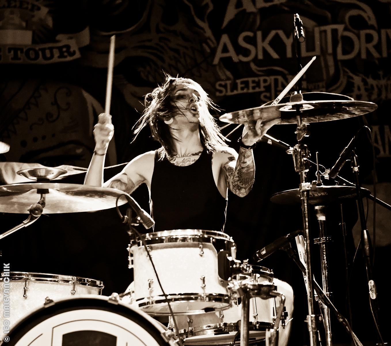 A Skylit Drive Drummer 2014